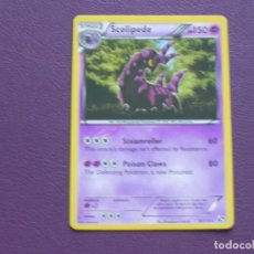 Trading Cards: CARTA POKEMON / STAGE 2 / SCOLIPEDE / HP 150. Lote 143204978