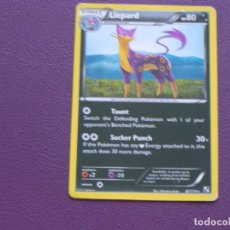 Trading Cards: CARTA POKEMON / STAGE1 / LIEPARD / HP 80. Lote 143205082