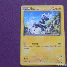 Trading Cards: CARTA POKEMON / BASIC / BLIZLE / HP 60. Lote 143206114