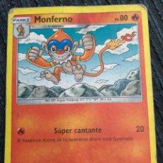 Trading Cards: TRADING CARD POKÉMON - MONFERNO. PS 80. SÚPER CANTANTE.. Lote 143275878