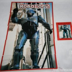 Trading Cards: LOTE DE 79 CARTAS, ROBOCOP 2, TOPPS 1990, TRADING CARDS. Lote 143505554