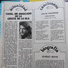 Trading Cards: TINO CASAL. Lote 257352240