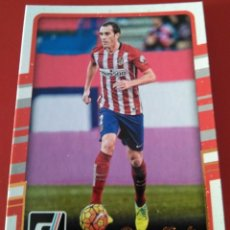 Trading Cards: CARD PANINI DONRUSS 2016 2017 016 DIEGO GODIN ATLETICO MADRID. Lote 144110662