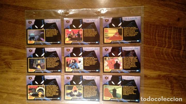 Trading Cards: THE BATMAN. TRADING CARDS SEASON 1.TOPPS.2005. COLECCIÓN COMPLETA BÁSICA. 90 CARDS. - Foto 13 - 144724370
