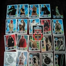 Trading Cards: 25 TRADING CARDS CARTAS STAR WARS. Lote 144835818