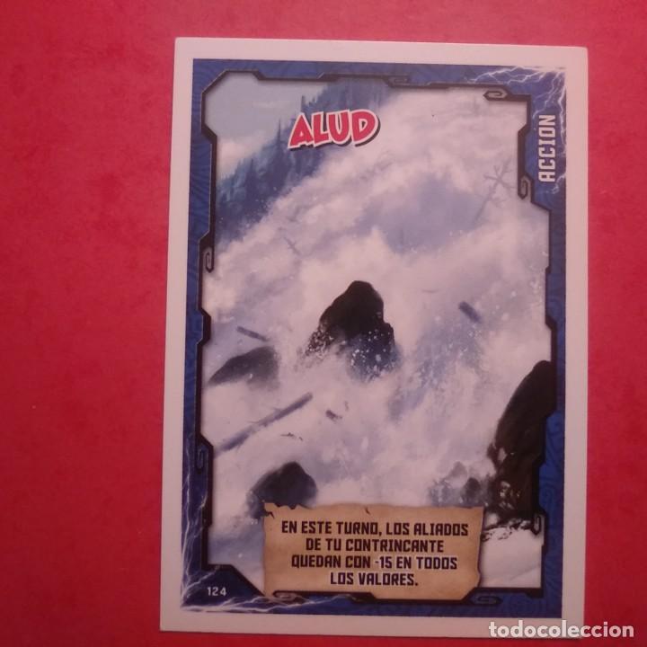 TRADING CARD NINJAGO - MASTERS OF SPINJITZU Nº 124 ALUD - 145158546