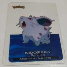 Trading Cards: CARTA POKEMON LAMINCARDS , NUMERO 029 NIDORAN. Lote 178384588