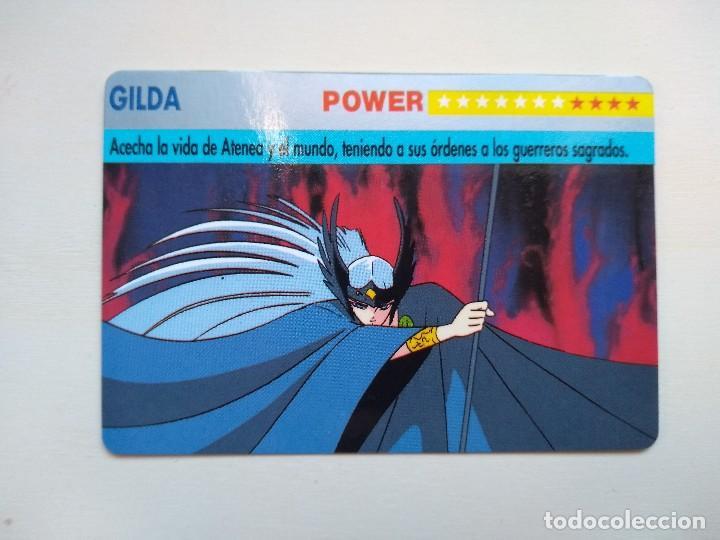 GILDA - CARDDASS SERIE Nº 1 - LOS CABALLEROS DEL ZODÍACO DE BANDAI (ESPAÑA - 1993) (Coleccionismo - Cromos y Álbumes - Trading Cards)