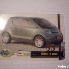 Trading Cards: CRYSTAL CARD Nº 113 COLECCION DREAM CARS MUNDICROMO SPORT CROMOS. Lote 146791738