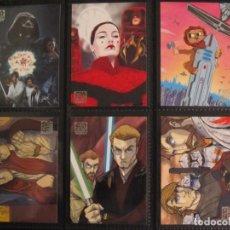 Trading Cards: CARTAS STAR WARS GALAXY SERIE 5 - TRADING CARDS - COLECCIÓN BÁSICA COMPLETA 120 CARTAS - SERIES 5. Lote 146938178