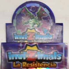 Trading Cards: INVIZIMALS LA RESISTENCIA MAZO CON 24 CARTAS. Lote 147154217