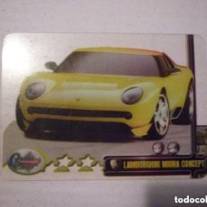 Trading Cards: CRYSTAL CARD Nº 025 COLECCION DREAM CARS MUNDICROMO SPORT CROMOS. Lote 147594046