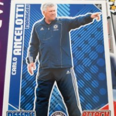 Trading Cards: CARD TOPPS MATCH ATTAX CARLO ANCELOTTI CHELSEA. Lote 147596186