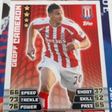 Trading Cards: CARD TOPPS MATCH ATTAX GEOFF CAMERON STOKE CITY. Lote 147596210