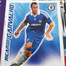 Trading Cards: CARD TOPPS MATCH ATTAX RICARDO CARVALHO CHELSEA. Lote 147597458