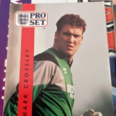 Trading Cards: CARD PRO SET MARK CROSSLEY NOTTINGHAM FOREST. Lote 147598458