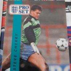 Trading Cards: CARD PRO SET STEVE CHERRY NOTTS COUNTY. Lote 147598558