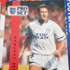Trading Cards: CARD PRO SET LEE CHAPMAN LEEDS UNITED. Lote 147598646