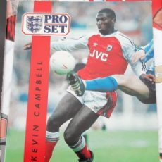 Trading Cards: CARD PRO SET KEVIN CAMPBELL ARSENAL. Lote 147598682