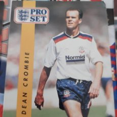 Trading Cards: CARD PRO SET DEAN CROMBIE BOLTON WANDERERS. Lote 147599342