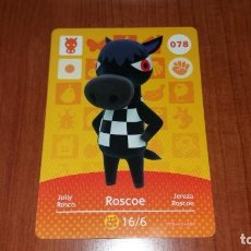 Trading Cards: ROSCOE - ANIMAL CROSSING - 078 - SERIE 1. Lote 148239054