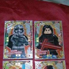 Trading Cards: CARTA EDICIÓN LIMITADA LEGO STAR WARS SERIE 1 ALEMAN. Lote 149233582
