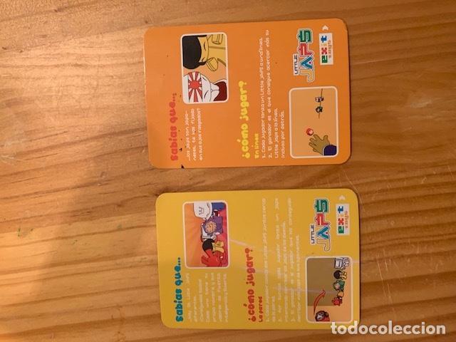 Trading Cards: LLITLE JAPS-CARTAS RARAS 2 EXIT TOYS - Foto 2 - 149718662