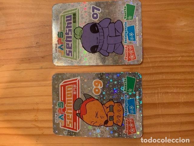 LLITLE JAPS-CARTAS RARAS 2 EXIT TOYS (Coleccionismo - Cromos y Álbumes - Trading Cards)