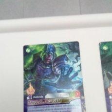 Trading Cards: FANTASY RIDERS. TOQUE DE OSCURIDAD. Nº 320. C6CR. Lote 151435470