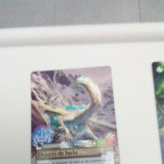 Trading Cards: FANTASY RIDERS. DRAGÓN DE HIELO. Nº 326. C6CR. Lote 151435562