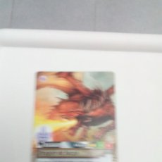 Trading Cards: FANTASY RIDERS. DRAGÓN DE FUEGO. Nº 335. C6CR. Lote 151435774