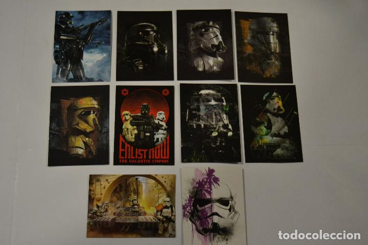 STAR WARS ROGUE ONE SERIES 2 : SUBSET TROOPERS (10 CARDS) (Coleccionismo - Cromos y Álbumes - Trading Cards)