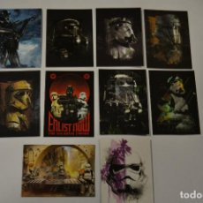 Trading Cards: STAR WARS ROGUE ONE SERIES 2 : SUBSET TROOPERS (10 CARDS). Lote 152471450