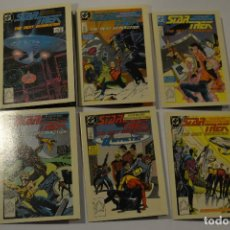 Trading Cards: STAR TREK THE NEXT GENERATION : SUBSET ESPECIAL COMICS (6 CARDS). Lote 152472306