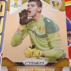 Trading Cards: PANINI PRIZM MUNDIAL FUTBOL 2014 THIBAUT COURTOIS BELGICA. Lote 152487242