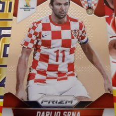 Trading Cards: CARD PANINI PRIZM MUNDIAL FUTBOL 2014 DARIJO SRNA CROACIA. Lote 152487646