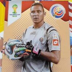 Trading Cards: CARD PANINI PRIZM MUNDIAL FUTBOL 2014 KEYLOR NAVAS COSTA RICA REAL MADRID. Lote 152488094