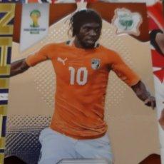 Trading Cards: CARD PANINI PRIZM MUNDIAL FUTBOL 2014 GERVINHO COSTA DE MARFIL. Lote 152488542