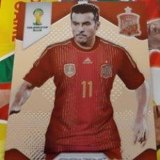 Trading Cards: CARD PANINI PRIZM MUNDIAL FUTBOL 2014 PEDRO RODRIGUEZ ESPAÑA. Lote 152488586