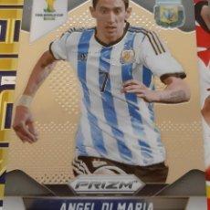 Trading Cards: CARD PANINI PRIZM MUNDIAL FUTBOL 2014 ANGEL DI MARIA ARGENTINA. Lote 152488826