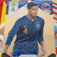 Trading Cards: CARD PANINI PRIZM MUNDIAL FUTBOL 2014 RAPHAEL VARANE FRANCIA REAL MADRID. Lote 152488866