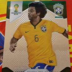 Trading Cards: CARD PANINI PRIZM MUNDIAL FUTBOL 2014 MARCELO BRASIL REAL MADRID. Lote 152489174