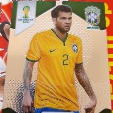 Trading Cards: CARD PANINI PRIZM MUNDIAL FUTBOL 2014 DANI ALVES BRASIL. Lote 152489182