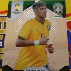 Trading Cards: CARD PANINI PRIZM MUNDIAL FUTBOL 2014 NEYMAR JR. BRASIL. Lote 152489186