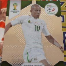 Trading Cards: CARD PANINI PRIZM MUNDIAL FUTBOL 2014 SOFIANE FEGHOULI ARGELIA. Lote 152489218