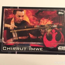 Trading Cards: STAR WARS ROGUE ONE - TOPPS 2016 TRADING CARD 10. Lote 152842117