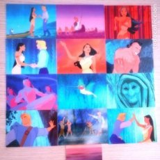 Trading Cards: LOTE DE 13 TRADING CARDS POCAHONTAS SKYBOX 1995. Lote 154020230