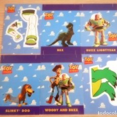 Trading Cards: LOTE DE 6 TRADING CARDS TOY STORY SKYBOX 1995 CONSTRUCCION. Lote 154193170