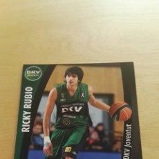 Trading Cards: PANINI LIGA ACB 2008 2009 08 09 TRADING CARDS N°112 RICKY RUBIO ,NUEVOS, PIDE TUS FALTAS. Lote 154924332