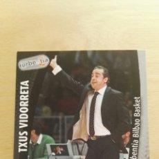 Trading Cards: PANINI LIGA ACB 2008 2009 08 09 TRADING CARDS N°129 BILBAO BASKET ENTRENADOR,NUEVOS, PIDE TUS FALTAS. Lote 154924657